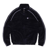MAGENTA SKATEBOARDS VELOURS SPORT JACKET - BLACK