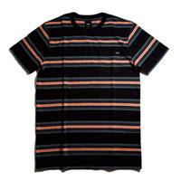 VANS Harrington Stripe Short Sleeve Tee - Black