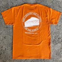 JUNIOR'S CHEESE CAKE TEE ORANGE