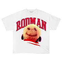 Rodman Brand Smile Head S/S T-shirts - White