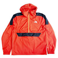 THE NORTH FACE WIND ANORAK JACKET - RED
