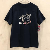 GIRL SKATEBOARDS DELIVERY TEE - NAVY