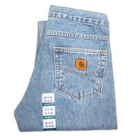 CARHARTT RELAXED-FIT TAPERED-LEG JEAN - Stonewash