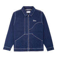 Dime Denim Chore Jacket - Raw Dark Indigo