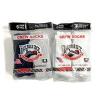 The Railroad Sock 6pack Crew Socks