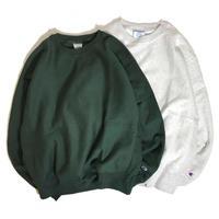 Champion Reverse Weave® Crewneck Sweatshirt - Green/Ash Grey
