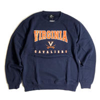 Colosseum Virginia Cavaliers Crewneck Sweat - Navy