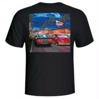 IN-N-OUT 2018 HOLLYWOOD CRUISING T-SHIRT - BLACK