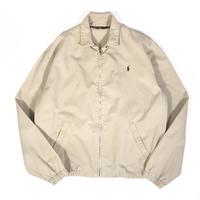 USED Polo Ralph Lauren Cotton Swing Top Jacket - Khaki