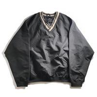 Ultra Club V-Neck Wind Shirt - Black/Tan