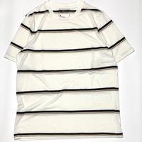 Striped Tee-White