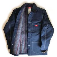 Dickies 12oz Denim Blanket Lined Chore Coat - Indigo Blue