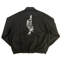 FUCKING AWESOME Smile Cry Windbreaker - Black