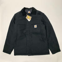 CARHARTT  DUCK TRADITIONAL ARCTIC QUILT-LINED JACKET - BLACK