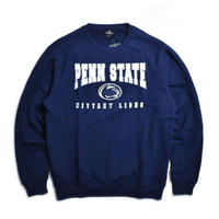 Colosseum Penn State Nittany Lions Crewneck Sweat - Navy