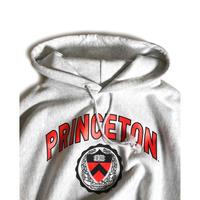Princeton University Reverse Weave Hooded Sweatshirts - Ash