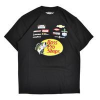 Nascar Bass Pro Shops T-Shirts - Black