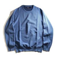 Polo Ralph Lauren Pima Cotton Knitted Long Sleeve - Blue Stone Heather