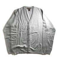 Harriton V-Neck Acrylic Cardigan - Grey