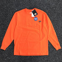DICKIES Long Sleeve Heavyweight T-Shirt - Orange