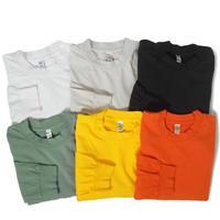Los Angeles Apparel 6.5oz Garment Dye Long Sleeve Tee