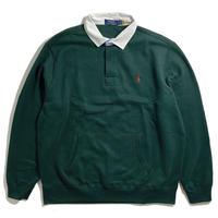Polo Ralph Lauren Fleece Rugby Pullover - Green