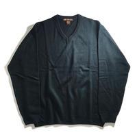Harriton V-Neck Acrylic Sweater - Dark Navy