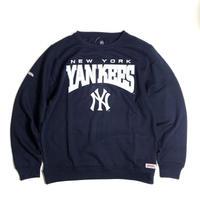 MLB Official New York Yankees Crewneck Sweat Shirts - Navy