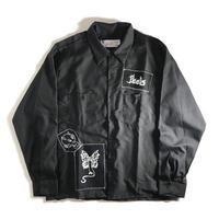 Peels Patch Work Shirt - Black