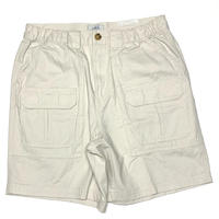 Croft & Barrow Fishing Cargo Shorts-Tan