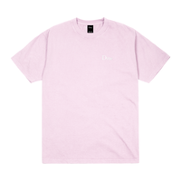 DIME CLASSIC LOGO EMBROIDERED T-SHIRT-LIGHT PINK