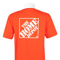 THE HOME DEPOT MORE PROMOTIONAL T-SHIRT - Orange