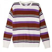 OBEY Parker Sweater - Cream Multi