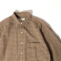 USED 90's Banana Republic Cotton Check Shirts