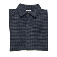 CROFT & BARROW S/S SHIRT - NAVY