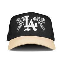 Sworn To US City of Angels A-Frame Snapback - Black/Tan