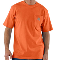 CARHARTT WORKWEAR POCKET T-SHIRT-Orange