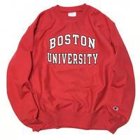 BOSTON  UNIVERSITY CREW NECK SWEAT