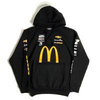 JH Design Nascar Mcdonald's Pullover Sweat Hoodie - Black