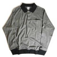 Haband L/S Plaid Polo Shirts
