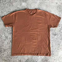 AMERICAN APPAREL Heavy Jersey Box Tee - Faded Rust