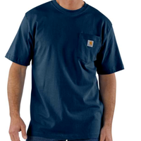 CARHARTT WORKWEAR POCKET T-SHIRT-Navy