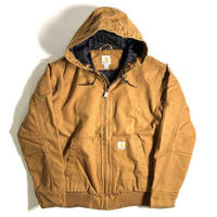 Carhartt Washed Duck Insulated Active Jacket - Carhartt Brown