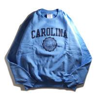 University of North Carolina Reverse Weave Crewneck Sweatshirts - Sax/Black