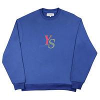 Yardsale YS Marble Crewneck (Blue)