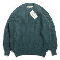 West End Knitwear Fisherman Crewneck Sweater - Moss