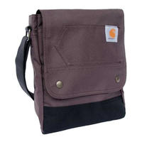 CARHARTT LEGACY WOMEN'S CROSS BODY BAG - WINE