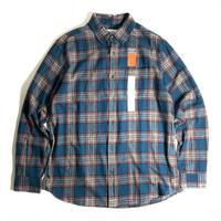 St. John's Bay Classic Fit Flannel Shirts - Teal Plaid