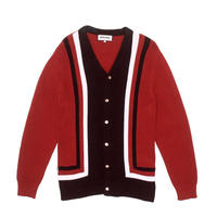 FUCKING AWESOME READER CARDIGAN - MAROON