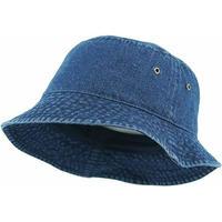 KB ETHOS Solid Bucket Hat - Dark Denim